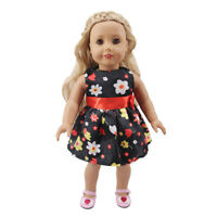 """Hot Handmade Accessories Fits 18"""" Inch American Girl Doll Clothes Fashion Dress"""
