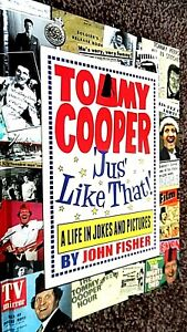 TOMMY COOPER 'JUS' LIKE THAT!' A LIFE IN JOKES AND PICTURES / John Fisher (2012)