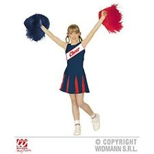 Cheerleader - Childrens Fancy Dress Costume - Large - Age 11-13 - 158cm - 1113