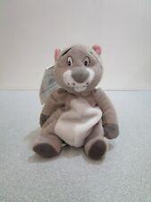 "Disney Store Winnie the Pooh Gopher Beanie 8"" Bean Bag Plush with Tags"