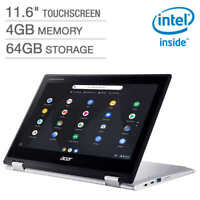 """Acer Spin 311 11.6"""" Touch Chromebook (celeron, 4G, 64G) with Mouse CP311-2H-C008"""