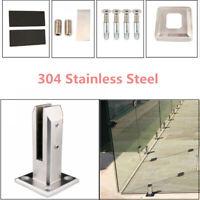 Steel Floors Standing Stairs Balcony Pool Glass Clamp Spigots Railing Balus I6E8