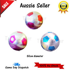 Giant Jumbo Inflatable Soccer Ball 50cm Parties Children Toy Play beach summer