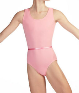 Official RAD logo Leotard PINK Cotton, Sleeveless. Ages 7,8,9,10,11,12,13,14