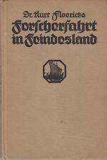(Kosmos) Floericke: Forscherfahrt in Feindesland [Rumänien]  (mit 15 Abb.   1918