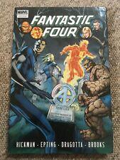 Marvel Comics: Fantastic Four Volume 4. Hickman. #583-588 (Hardback, 2011)