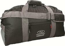 Black Cargo Travel Holdall 100 Litres camping  gymn Foldable Travel Large Bag