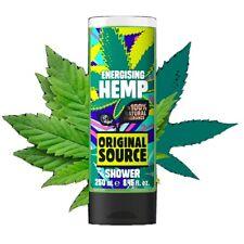 Vegan Bathroom Supplies Presents Original Source Energising Hemp Shower Gel
