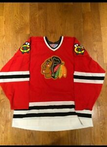 90's Chicago Blackhawks CCM Hockey Jersey
