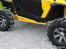 Super ATV YELLOW- Nerf Bars Rock Sliders Can-Am Commander 800R & 1000 2010-2014
