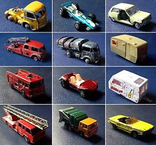Dinky Toys, Solido, Corgi, Norev, Majorette, Matchbox - LOT Collector 1980