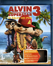 ALVIN SUPERSTAR 3 -  BLU-RAY NUOVO