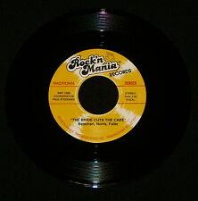 "JOHN NORRIS ""THE BRIDE CUTS THE CAKE/Wedding"" ROCK'N MANIA 100 (1990) 45rpm"
