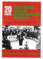 Akkordeon Noten : ERNST MOSCH und Original Egerländer Jubiläumsheft 3 mittel