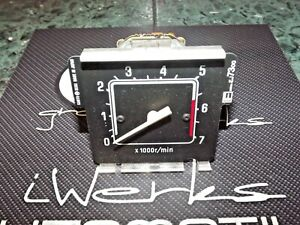Rare 80-82 Nissan Pickup truck 720 gauge cluster tach tachometer gauge assembly