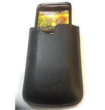 Custodia PELLE nera per BLACKBERRY 8520 CURVE UNIVERSALE 115Hx60Px80L CALAMITA