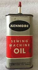 VINTAGE KENMORE SEWING MACHINE OIL CAN SEARS ROEBUCK & CO USA & CANADA RARE CAN