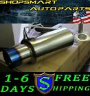 SRS MITSUBISHI LANCER 2010 DE ES GTS BURNED TIP EXHAUST AXLEBACK 2.4L 2.0L