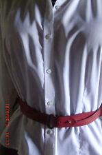 SCAPA  BELT - Superbe ceinture Dame en cuir Rouge 85 cm VINTAGE
