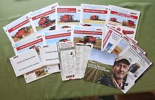 CASE IH 7010 8010 7120 8120 9120 AXIAL FLOW COMBINE DEALER SALES KIT LITERATURE