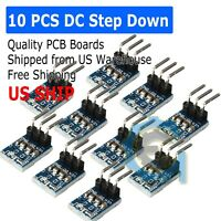 10 PCS DC 5V to 3.3V Step-Down Power Supply Module AMS1117-3.3 LDO 800MA M330