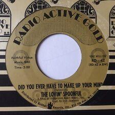 """LOVIN 'Cuillère: """"Avez-vous jamais avoir à Make Up Your Mind"""" - États-Unis radio active Gold"""