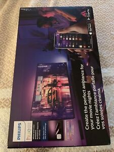 Philips Hue Play Starter Kit, Two Black Hue Play Light Bars, New
