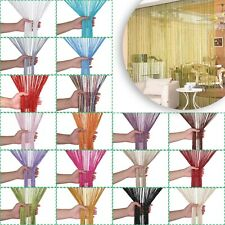 Glitter String Door Curtain Room Window Divider Panel Fly Screen Net Curtains