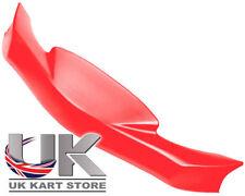 KG MK14 Cadet Nose Cone / Front Spoiler Red UK KART STORE