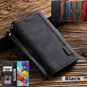 Magnetic Leather Flip Stand Wallet Phone Case Cover for Samsung A21s A12 A52 A72