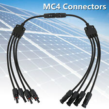 1 to 4 Y Type MC4 Solar Panel Cable Connectors Male Female M/F Wire Branch PV CA