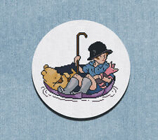 Cross Stitch Pattern Christopher Robin and Pooh