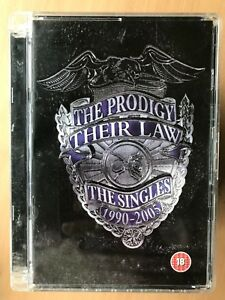 The Prodigy Their Law Singles DVD 1990-2005 Video Compilation Dance Music