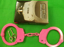 CTS THOMPSON 1010 PINK CHAIN HANDCUFFS