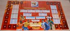 Panini World Cup South Africa 2010 FIFA Tournament Tracker Wallchart Promo