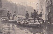 * FRANCE - La Crue de la Seine, Paris 1910 Marine de Guerre