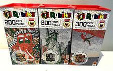 3 x Rubik's Puzzles Bundle 200/300 pieces