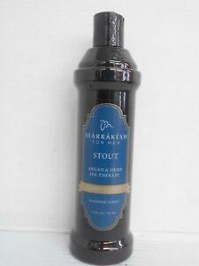 MARRAKESH FOR MEN ~ STOUT Argan & Hemp Oil Therapy CONDITIONER ~ 12 fl. oz.!!