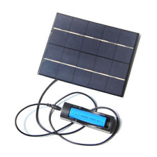 5V 3.5W Mobile Solar Panel Charger Kit For Power Bank 18650 Battery 130*165MM GL
