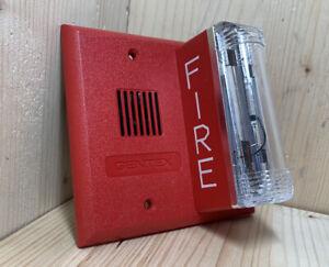 NEW Gentex GX-90S-4-15/75WR Fire Alarm Horn Strobe