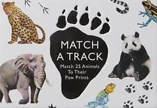 Correspondre À Une piste: MATCH 25 animaux à leurs Paw Prints (Magma pour Laurence King) par