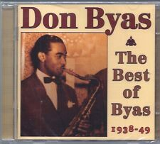 Don Byas: The Best of Byas 1938-49 NEW 2-CD