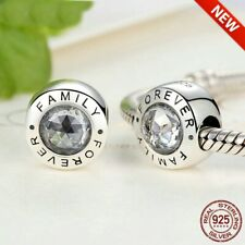 New Authentic 925 Sterling Silver Original Family Forever Charm  ALE 2019