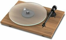 Pro-ject Turntable T1 Walnut Matt Incl Ortofon OM5E + Dust Protector Cap