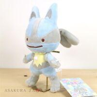Pokemon Center Original Plush Transform Ditto Lucario doll From Japan