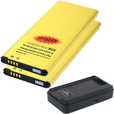 Lot2 4500mAh Battery + USB Charger for Samsung Galaxy Note 4 IV N910 N910T N910P