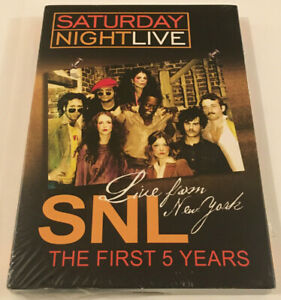 Saturday Night Live 'The First 5 Years' DVD (2005) Sealed BRAND NEW OG