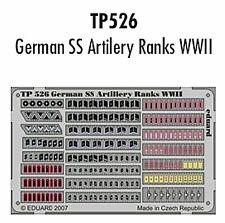 Eduard 1/35 Alemán SS artillería filas la segunda guerra mundial # TP526