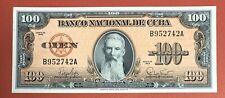 New ListingCentral America 100 Pesos 1959 Pick# 93a Xf-Aunc.(#2187)