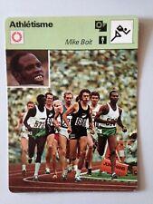 CARTE EDITIONS RENCONTRE 1978 / ATHLETISME - MIKE BOIT